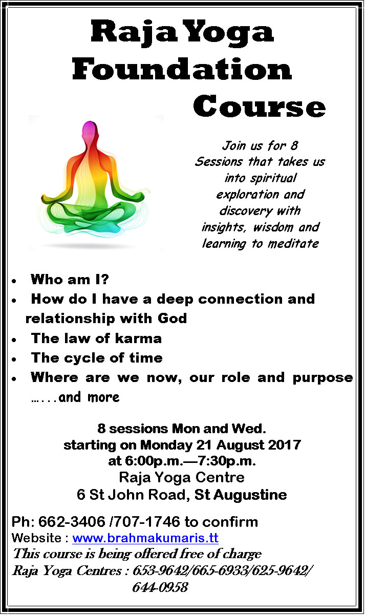 Raja Yoga Foundation Course