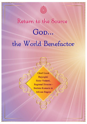 God – The World Benefactor