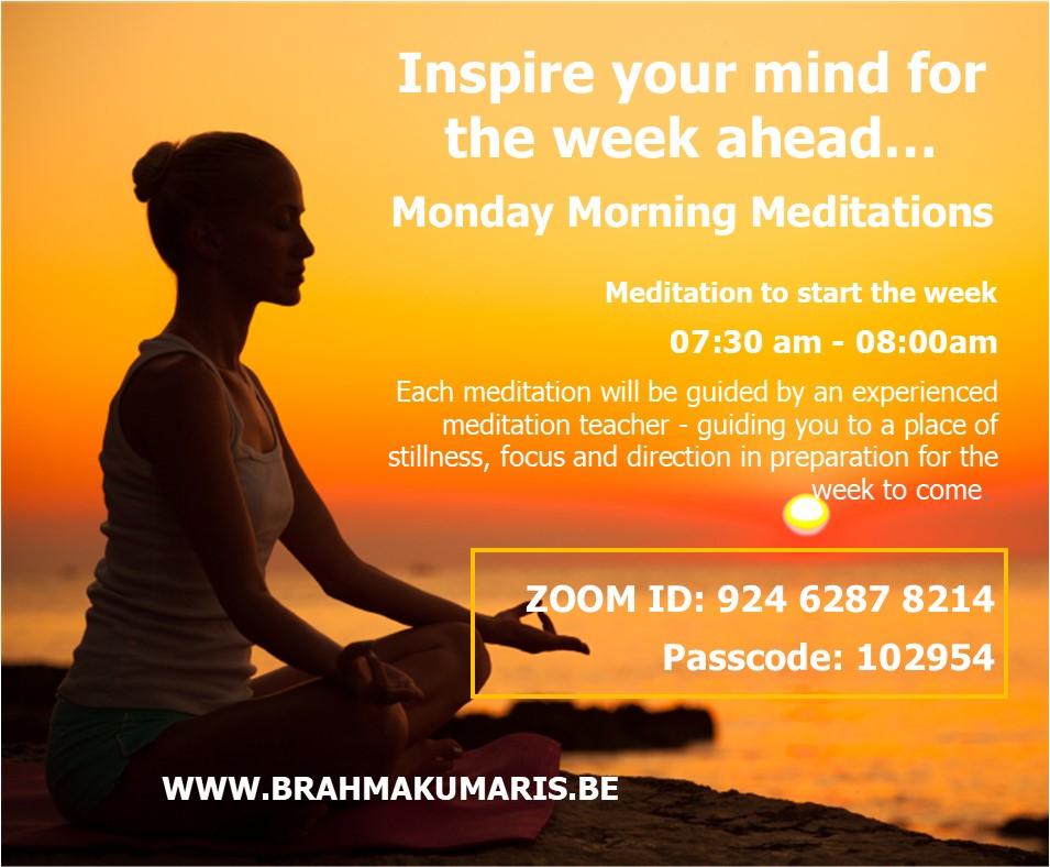 Meditation to start the Week