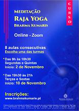(Online) Curso Introdutório à Meditação Raja Yoga - EXTENSIVO (Noite) *