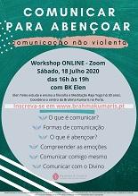 (Evento online) Comunicar p/ abençoar: comunicação não violenta: , c/ BK Elen *