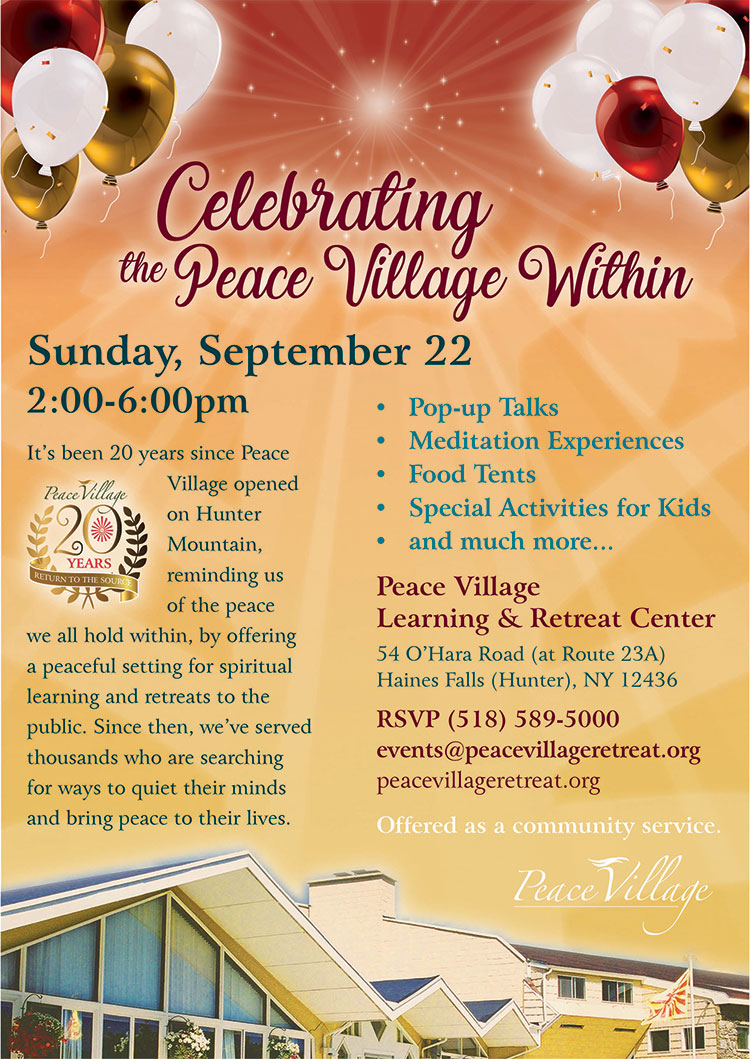 Programs, Classes & Workshops | Peace Village