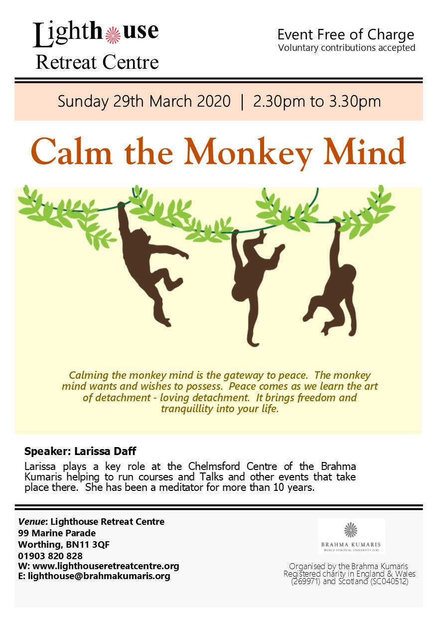calm the monkey mind