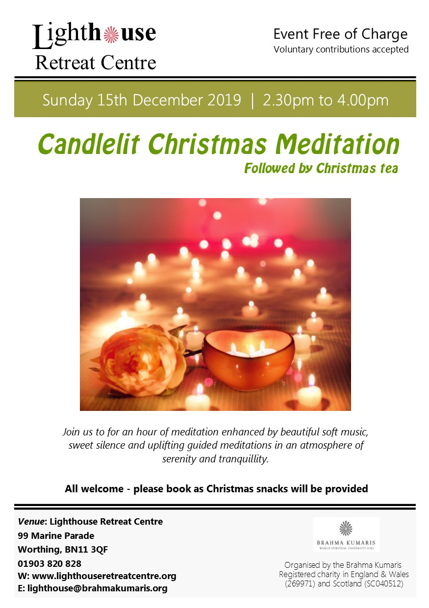 Candlelight meditation