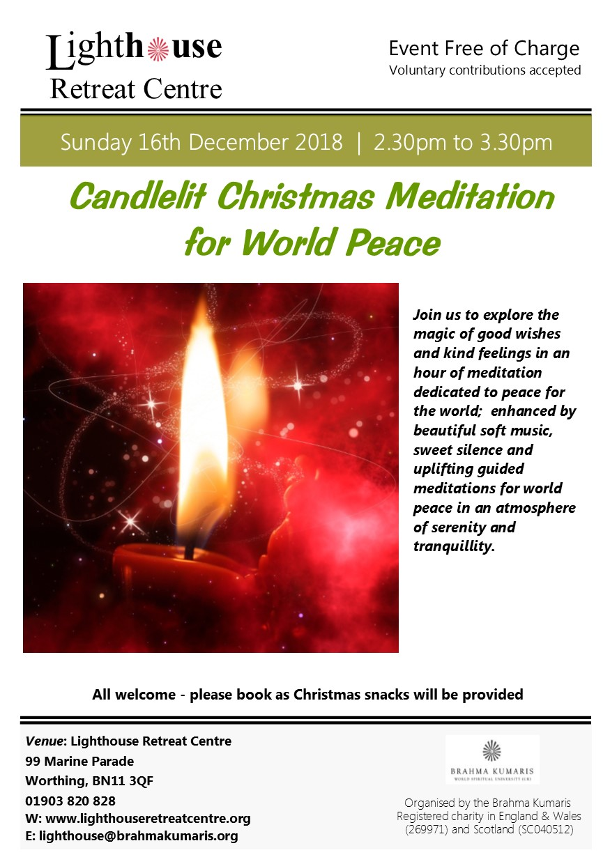 christmas candlelit meditation