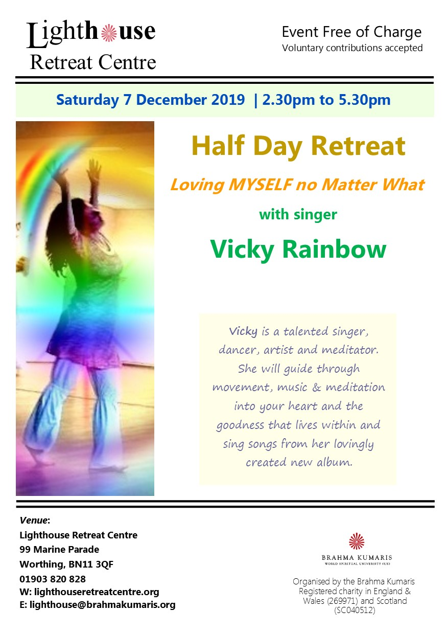 vicky rainbow half day retreat
