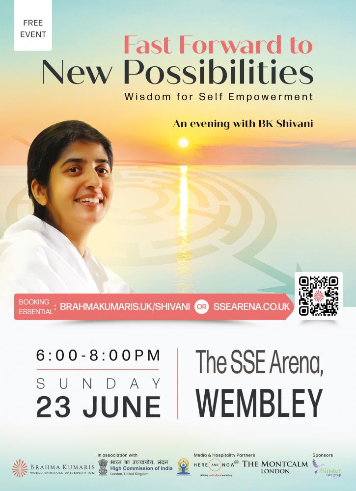 Shivani at Wembley