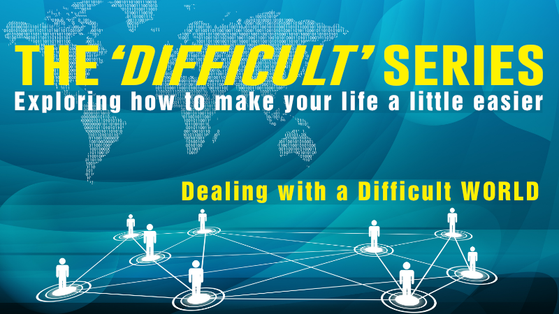 Special Event : The 'Difficult' Series with Mike George