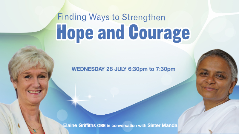Special Event : Finding Ways to Strengthen Hope and Courage