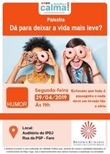 Escolha a Calma: Humor - dá p/ deixar a vida mais leve?