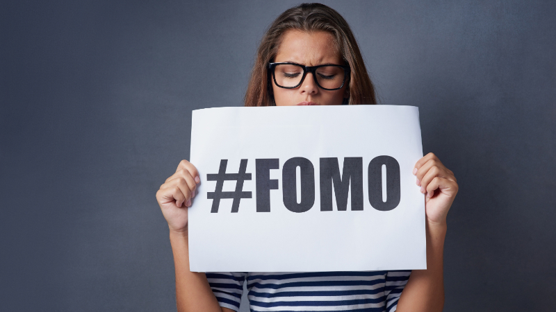 Online Talk : Overcoming FOMO (the Fear of Missing Out)