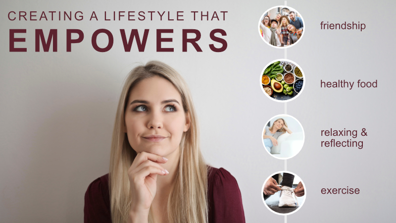 Online Talk : Creating a Lifestyle that Empowers