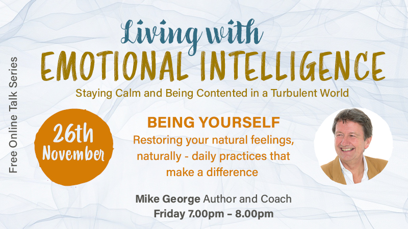 Special Online Event : The 'EQ' Series with Mike George - 29 Oct, 12 Nov, 26 Nov - View Promo Video