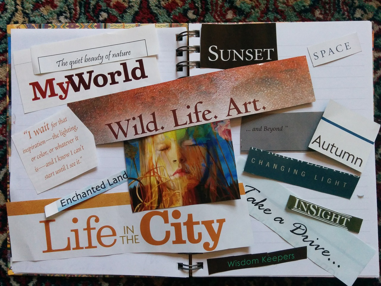 Vision Board Workshop and much more