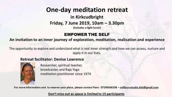 KIRKCUDBRIGHT. One Day Meditation Retreat