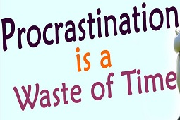 Procrastination Is A Waste Of Time