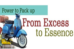 From Excess to Essence - Power to Pack Up