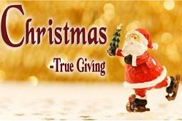 Christmas : True Giving
