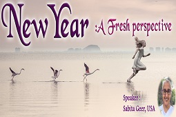 New Year: a fresh perspective